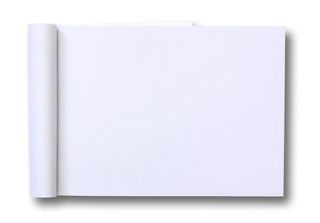 sketchbook: blank Paper tablet