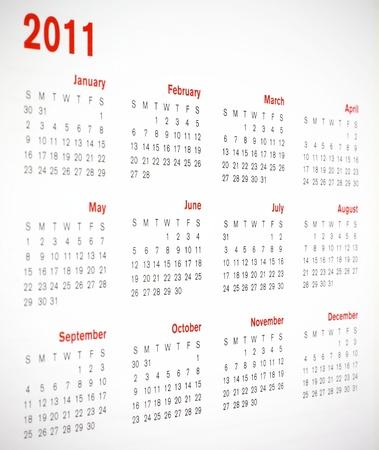 calendar 2011 photo