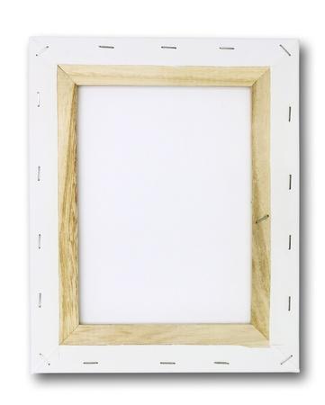 beursvloer: doek op een brancard. geïsoleerd op wit