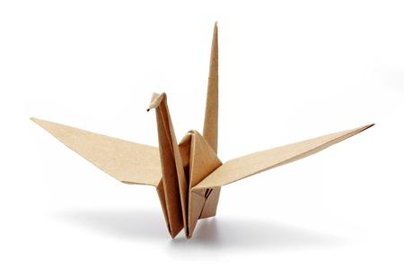 origami oiseau: Origami Oiseau en papier recycl�