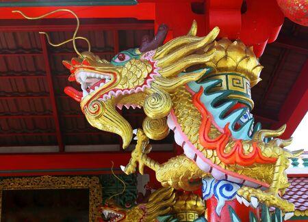 Chinese beautiful dragon  photo