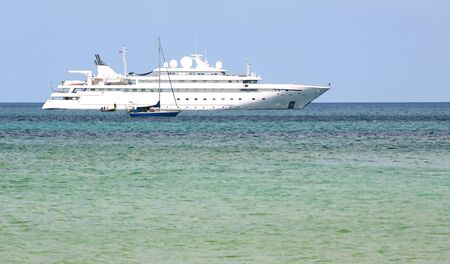 lifeboats: Cruise Ship in the Andaman Sea