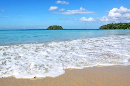 kata: kata beach, Phuket Thailand  Stock Photo