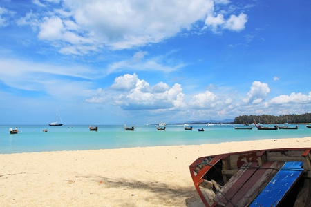 Naiyang beach Phuket Thailand photo