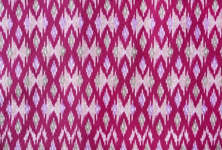 pattern on thai cloth texture of general traditional thai style native Stock Photo - 12884564