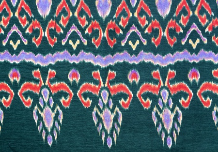 loincloth: pattern on thai cloth texture of general traditional thai style native