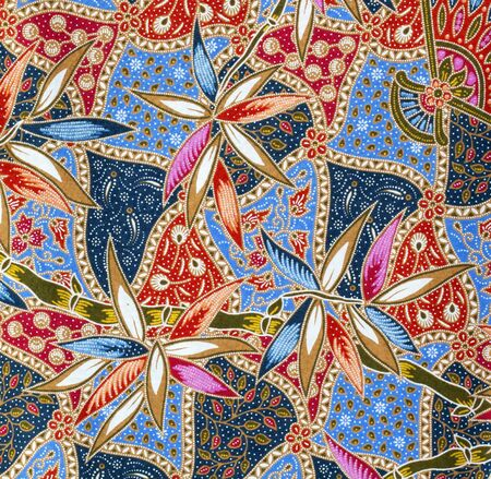 タイ布のパターン