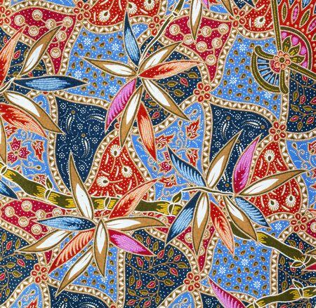 pattern on the thai cloth  Stock Photo