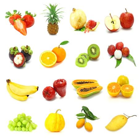 tamarillo: mixed fruits