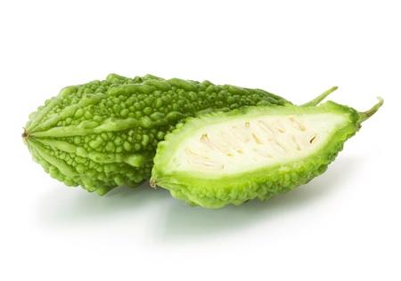 Bitter melon , Bitter gourd Stock Photo