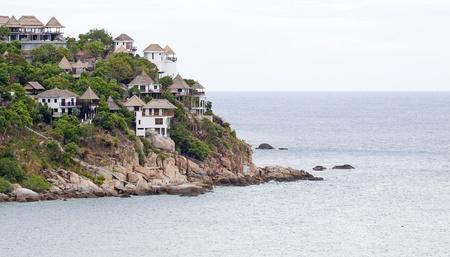 koh tao: Villas on Pacific coast of Thailand at koh tao south of thailand