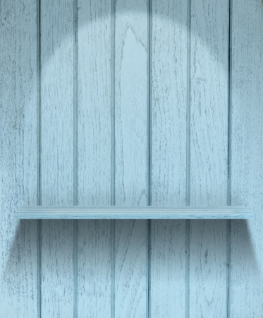 Vintage wood shelf Stock Photo - 14456500