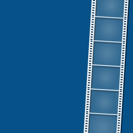 blank film strip on background Stock Photo - 14456513
