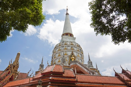 pagoda in the temple in phangnga thailand Stock Photo - 14826390