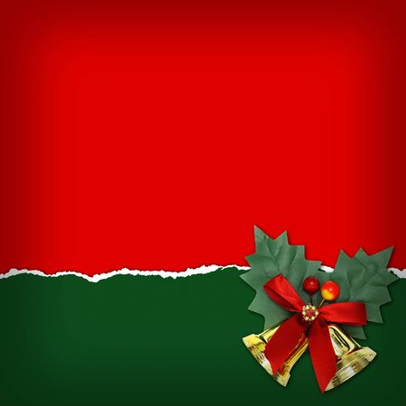 christmas backgrounds: Christmas background with Christmas bells