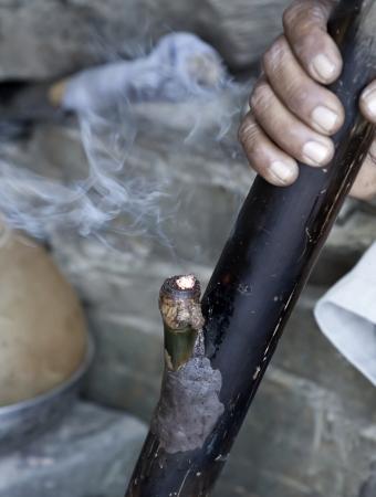 bong: Smoking bong  marijuana