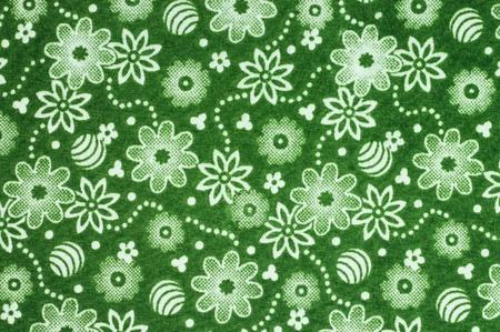 Pattern of Thailand native cloths photo