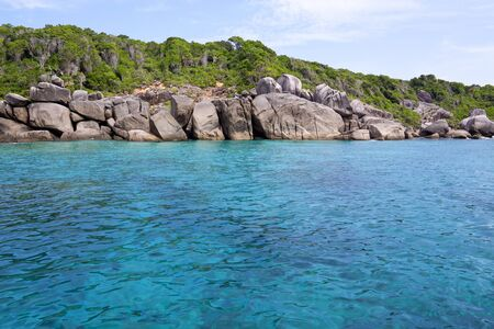 sea and rocky coast at similan island thailand Stock Photo - 16921201