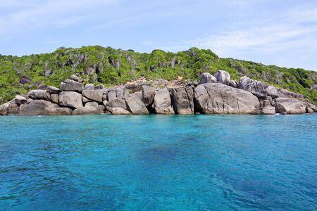 sea and rocky coast at similan island thailand Stock Photo - 16921232