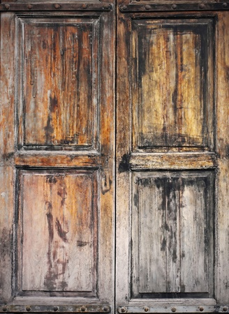 Very old grunged wooden window  Stock Photo - 17077356