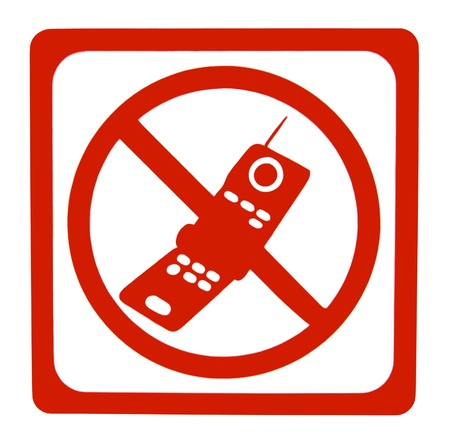 No mobile phone sign  photo