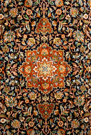 동양 페르시아어 카펫 텍스처
