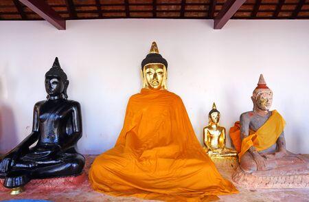 thani: Sacred Buddha images in Surat thani, Thailand