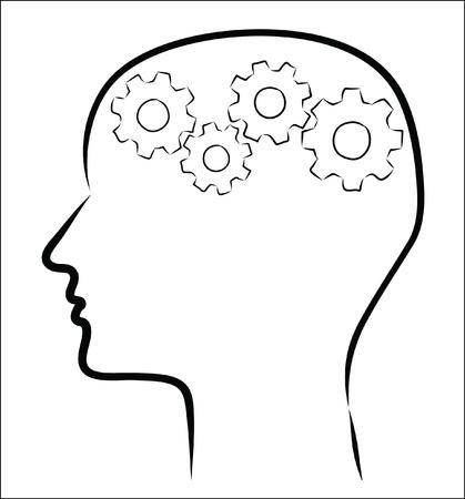 gear head: human head gear