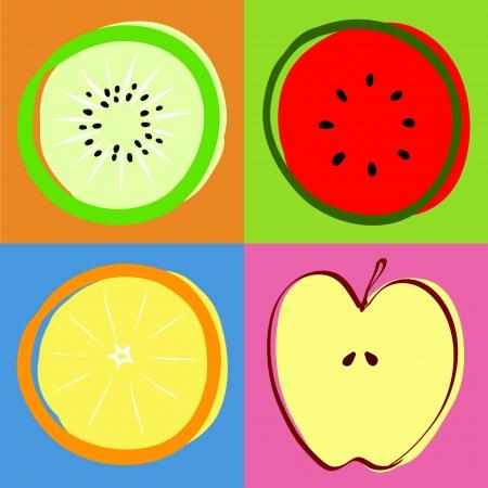 mezcla de frutas: mezcladas de frutas