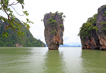 james bond: Phang Nga Bay, James Bond Island, Thailand