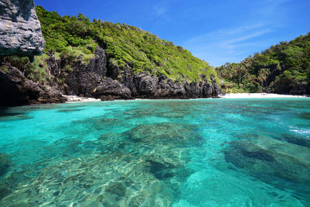 tropical sea Phi Phi island. Thailand photo