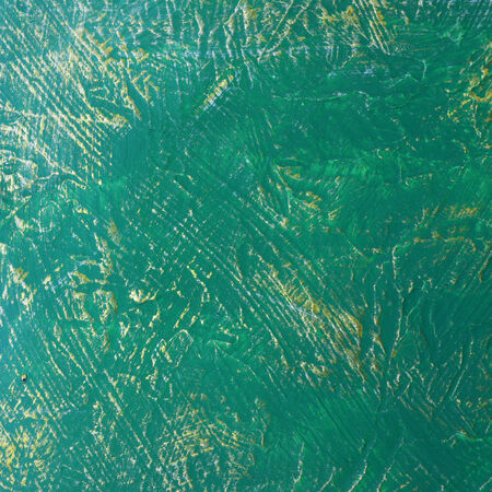 expressional: abstract green paint texture background