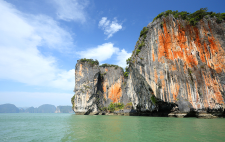 seascape Phangnga bay Thailand photo