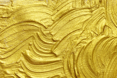 gold textured background: gold acrylic textured painting background Stock Photo