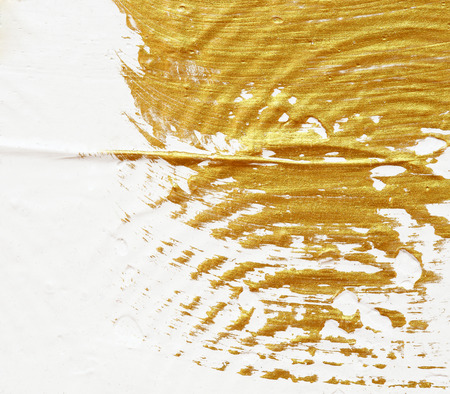 textured: acrylic textured gold paint abstract background
