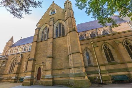 tasmania: Saint Davids Cathedral in Hobart City, Tasmania, Australia.
