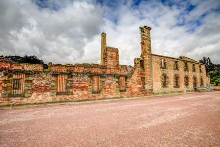 penal: The Penitentiary is located in Port Arthur Historic Site, Which until 1877 was a penal colony for prisoners. The site, UNESCO heritage, is located on the Tasman Peninsula, Tasmania, Australia.