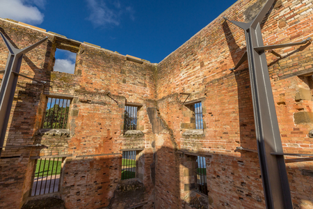 penitentiary: The Penitentiary is located in Port Arthur Historic Site, Which until 1877 was a penal colony for prisoners. The site, UNESCO heritage, is located on the Tasman Peninsula, Tasmania, Australia.