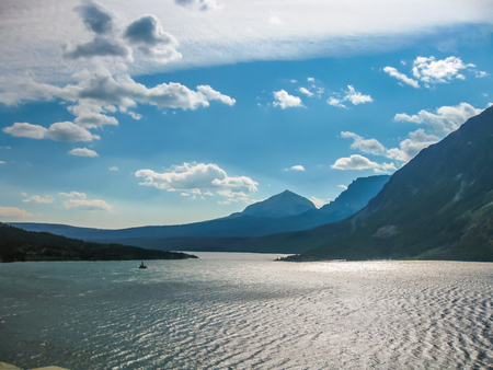 Glacier National Park: Lake McDonald in Glacier National Park, Montana, United States.