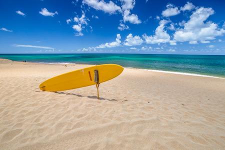 banzai pipeline: Sunset Beach, North Shore, Oahu, Hawaii. Stock Photo