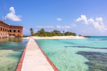 Dry Tortugas National Park is situated at the southwest corner of the Florida Keys reef system and is one of the United States most remote national parks.