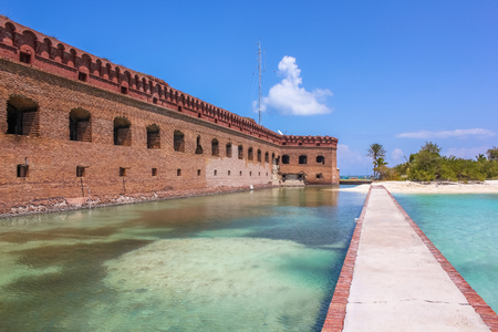 national parks: Dry Tortugas National Park is situated at the southwest corner of the Florida Keys reef system and is one of the United States most remote national parks.
