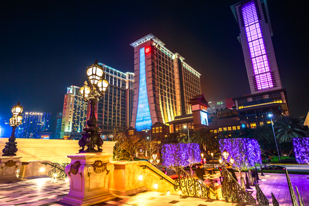 Cotai Strip Macau night