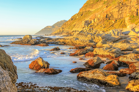 table mountain national park: Noordhoek Beach Background