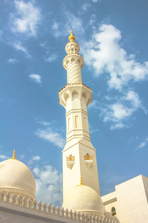 minaret: Grand Mosque Minaret UAE
