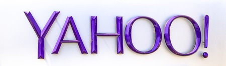 Sunnyvale, California, United States - August 12, 2018: the logo of the brand Yahoo isolated on white. Yahoo is tech company, leader in search engine service and information technology web portals
