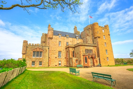 Castle of Mey of the Highland in Scotland, United Kingdom.