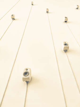 wall speakers Imagens