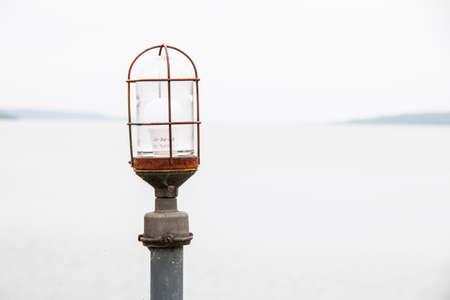 light meets lake