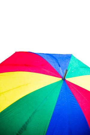 colorful umbrella for a rainy day
